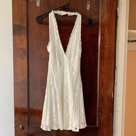 Kimchi Blue Dresses & Skirts - White lace mini dress